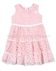 Le Chic Baby Girl Embroidered Tulle Dress