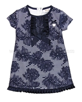 Le Chic Baby Girl Jacquard Dress