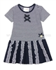 Le Chic Baby Girl Striped Jersey Dress