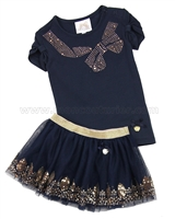 Le Chic Baby Girl T-shirt and Tulle Skirt Set