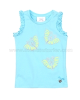 Le Chic Baby Girl Tank Top Blue