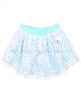 Le Chic Baby Girl Embroidered Organza Skirt