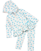Le Chic Baby Girl Hooded Top and Leggings Set