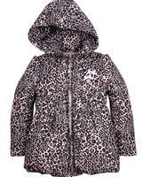 Le Chic Cheetah Print Coat