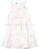 Le Chic Poplin Jacquard Dress Pink
