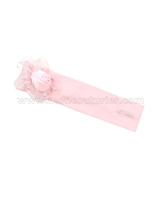 Le Chic Jersey Headband Pink