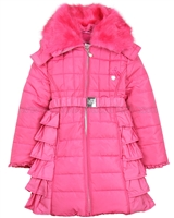 Le Chic Puffer Coat Hot Pink