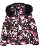 Le Chic Puffer Jacket in Floral Print