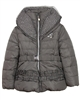 Le Chic Puffer Jacket with Shawl Collar Mud