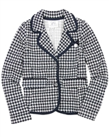 Le Chic Houndstooth Blazer