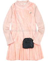 Le Chic Knit Dress with Purse