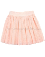 Le Chic Peach Sparkly Tulle