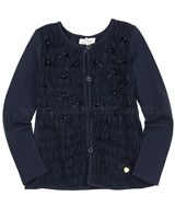 Le Chic Girls' Jersey Cardigan