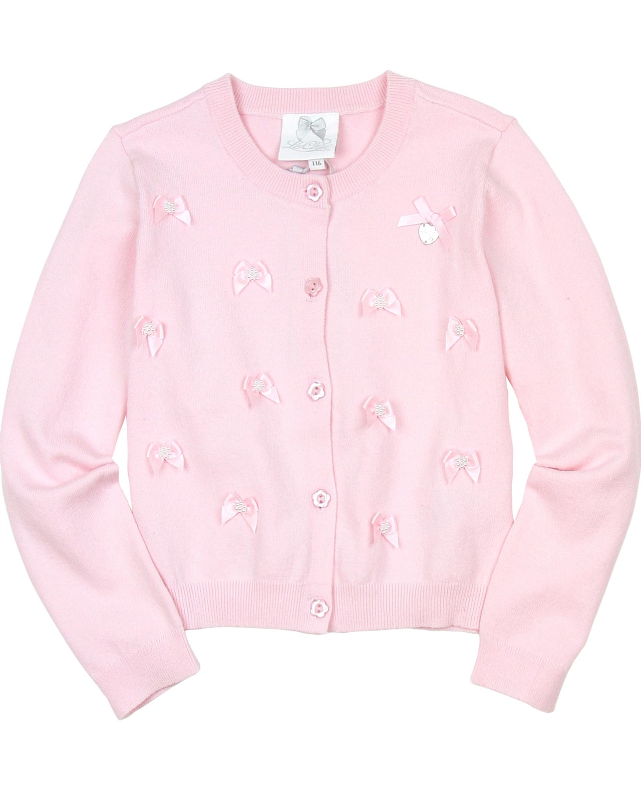 Le Chic Girls Knit Ajour Cardigan Sizes 4-12