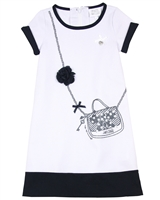 Le Chic Girls' Dress with Purse