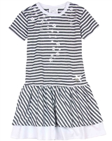 Le Chic Girls' Striped Dress