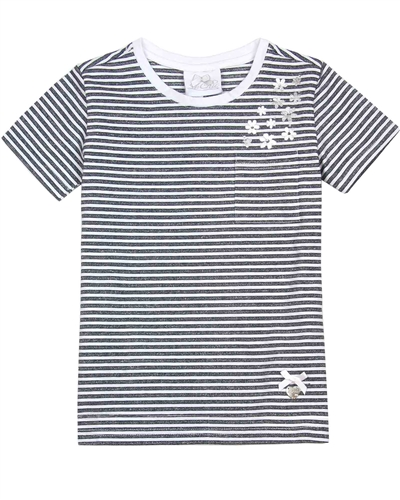 Le Chic Girls' Striped T-shirt