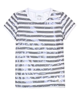 Le Chic Girls' T-shirt with Sequin Front