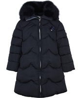 Le Chic Wavy Quilted Coat