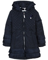 Le Chic Sequin Quilted Coat