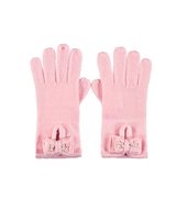 Le Chic Gloves in Pink