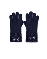 Le Chic Gloves in Navy