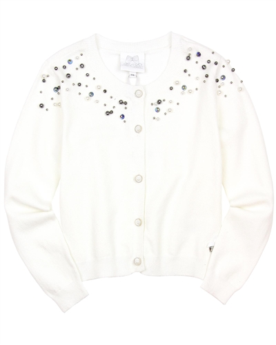 Le Chic Knit Cardigan with Pearls