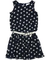 71b2533f7a1 Le Chic Chiffon Dress in Hearts Print