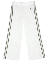 Le Chic Wide Leg Pants in White