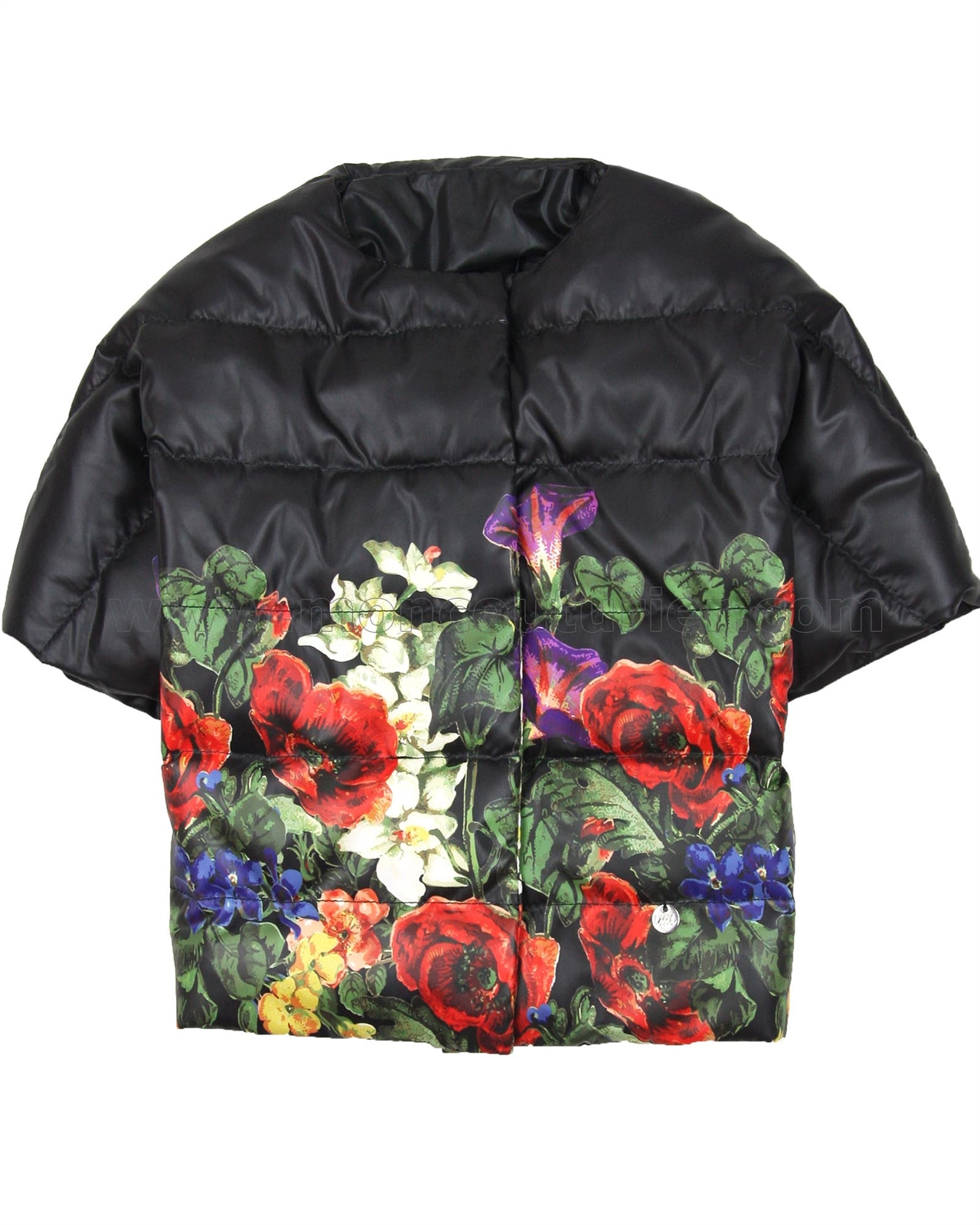 e70a444a3c LOVE MADE LOVE Girls' Quilted Down Vest in Floral Print, Sizes 6-12