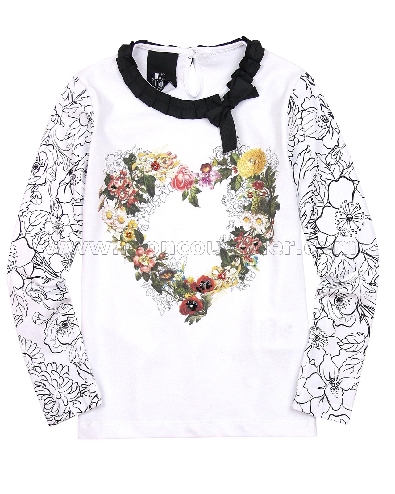 051cf3f842c3 Love Made Love Top with Floral Print