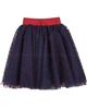 Love Made Tulle Skirt with Velvet Hearts