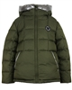 Lisa-Rella Boys Goose Down Short Coat in Olive