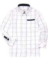 Losan Boys Plaid Dress Shirt