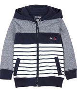 Losan Boys Hoodie with Nautical Stripes