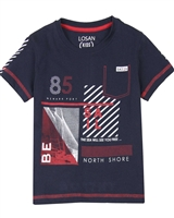 Losan Boys T-shirt with Nautical Print