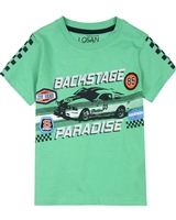 Losan Boys T-shirt with Racing Print