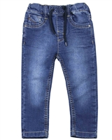 Losan Boys Basic Jogg Jeans in Medium Blue
