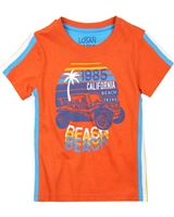 Losan Boys T-shirt with Side Stripes