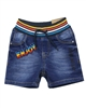 Losan Boys Jogg Jean Shorts with Striped Waistband