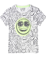 Losan Boys T-shirt with Reversible Sequins