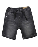 Losan Boys Basic Jogg Jean Shorts in Grey