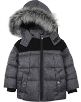 Losan Boys Quilted Parka Coat