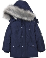 Losan Boys Classic Parka Coat with Hood