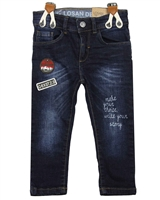 Losan Boys Denim Pants with Suspenders