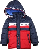 Losan Boys Quilted Puffer Coat