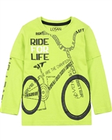 Losan Boys T-shirt with Bicycle Print