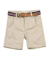Losan Boys Printed Shorts with Belt