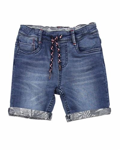 Sizes 4-14 Desigual Boys Denim Shorts Indigo