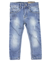 Losan Boys Slim Fit Jeans in Light Blue Wash
